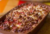 肉烤奶酪 — 图库照片