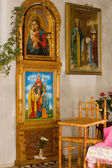 Icons in church — Stock Photo