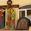 Stock Photo: Icons in church