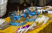 Ortodoxa bröllop tillbehör — Stockfoto