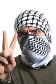 Filistin protestocu — Stok fotoğraf