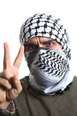 Palestinian protester — Stock Photo