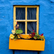 Colorful Kinsale cottage — Stock Photo