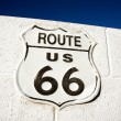 Route 66 highway sign — Stock Photo