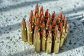 Rifle ammunition — Foto de Stock