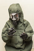 Chemical warfare smoker — Stock Photo
