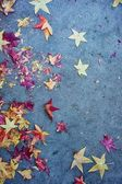 Fall leaves textures — Stock Photo