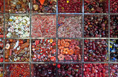 Various beads — Stock Photo