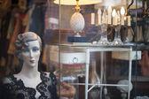Paris antique flea market — Stock Photo