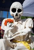 Day of the dead skeleton — Stock Photo