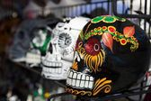 Day of the dead colorful skulls — Stockfoto