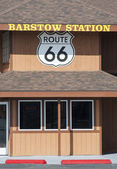 Barstow station route 66 — Stock Photo