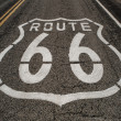 Route 66 roadway — Foto Stock