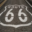 Route 66 roadway — Stock Photo #25118363