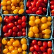 Stock Photo: Market Cherry Tomatoes