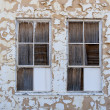 Stock Photo: Desert window decay texture