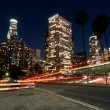 Los angeles nights — Stock Photo
