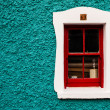 Irish cottage window — Stock Photo