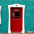 Colorful irish cottage — Stock Photo