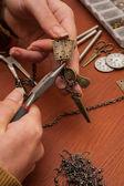 Jewellery making — Stock Photo