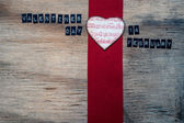 Grungy valentines day background — Stock Photo