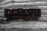 Grunge vintage font — ストック写真