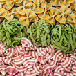 Various different colourful pasta backgrounds — Stock Photo #42608357