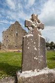 Rovine celtiche tombale in irlanda — Foto Stock
