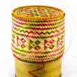 The delicate basketry in thai. — Stock Photo