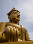 The Buddha statue in asia — Stock Photo