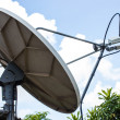 The Satellite dish — Stock Photo