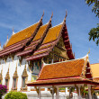 Beautiful churches, temples, Thailand and blue sky. — Stock Photo