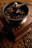 Reto Coffee mill — Stock Photo