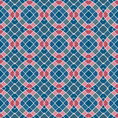 Design for seamless tiles with geometric lines and squares — Stock Photo