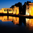 Temple of Debod, Madrid, Spain — Foto Stock