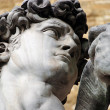 Statue of David by Michelangelo in Florence, Tuscany, Italy - Stock Photo