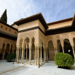 Courtyard of the Lions in the Alhambra — Stock Photo