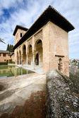 The Partal gardens of Alhambra in Granada — Stock Photo
