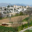 Albaicin seen from the Alhambra in Granada, Andalusia, Spain — Stock Photo #25615745