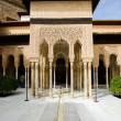 Stock Photo: Courtyard of Lions in Alhambra