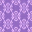 Seamless pattern with decorative flowers - irises. — Stock vektor