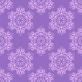 Seamless pattern with decorative flowers - irises. — Stock Vector