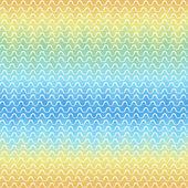 Patrones sin fisuras. fondo acuarela abstracta con tiras onduladas — Vector de stock