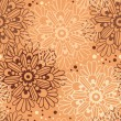 Cute floral seamless pattern — Stock Vector