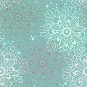 Söta blommiga seamless mönster — Stockvektor