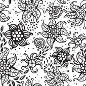 Joli motif floral de sans couture — Vecteur