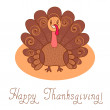Stock Vector: thanksgiving day