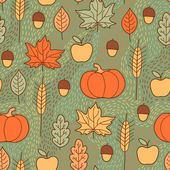 Beautiful background for Thanksgiving — Stock Vector