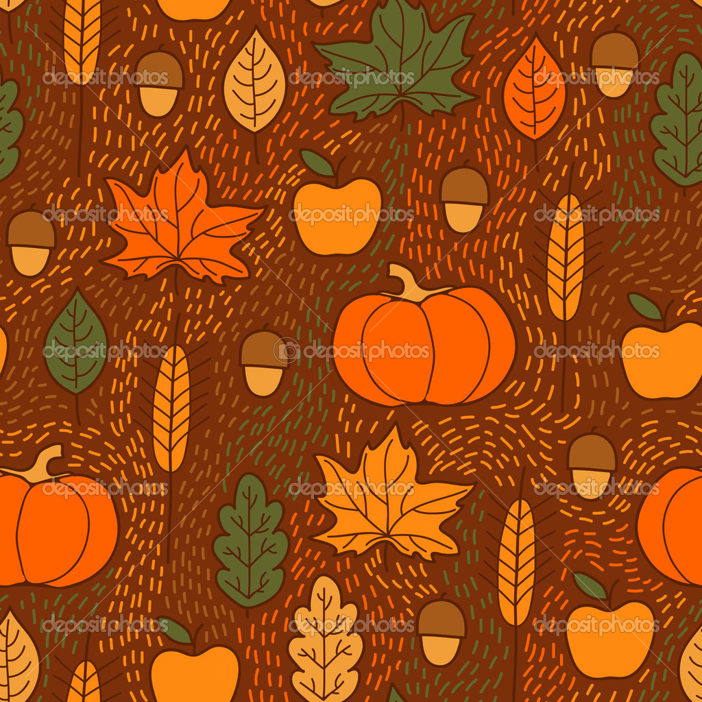 Beautiful background for Thanksgiving. — Stock Vector ...