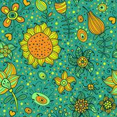 цветение сад — Cтоковый вектор